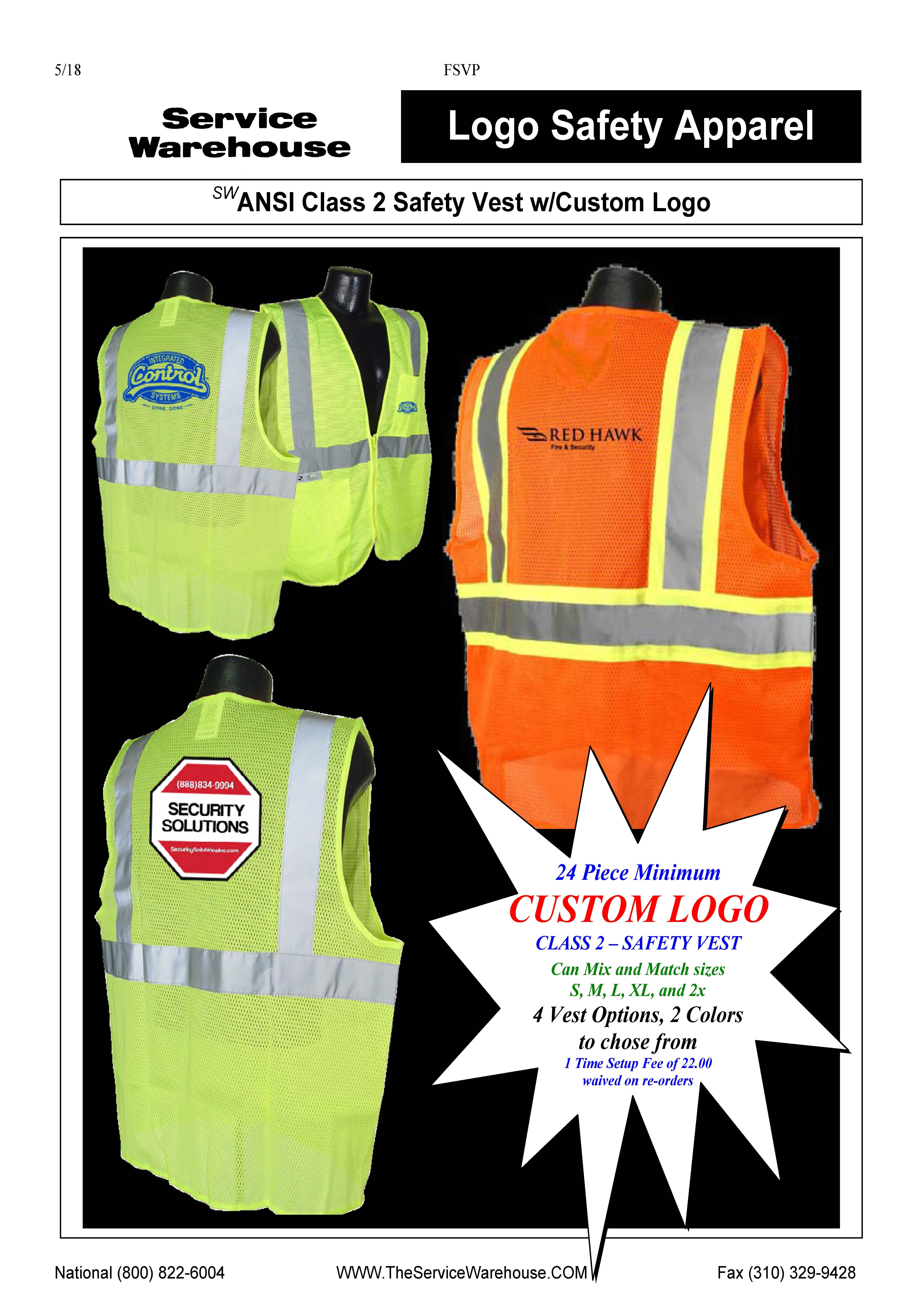 Safety Vest Promo Scroll