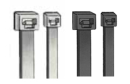 Natural & UV Black Plenum Cable Ties